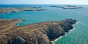 Ramsey Island (Ynys Dewi) & St David's Head Near St David's Aerial Pembrokeshire South Towns & Villages