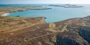 Ramsey Island (Ynys Dewi) & Carn Llidi Near St David's Aerial Pembrokeshire South Towns & Villages