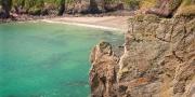 Caerfai Bay Near St David's Pembrokeshire South Coastal Scenery